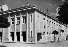 Lakatos Kálmán és Gallyas Camilló tervei szerint megújult épület, az új színház és kiállítótér. (forrás: Tér és Forma, 1936)