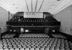 A nézőtér 1936-ban. (forrás: Tér és Forma, 1936)