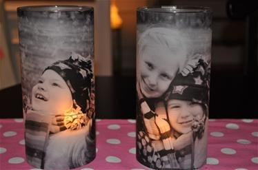 vellum votive candles