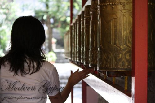 Tibetan-prayer-wheel