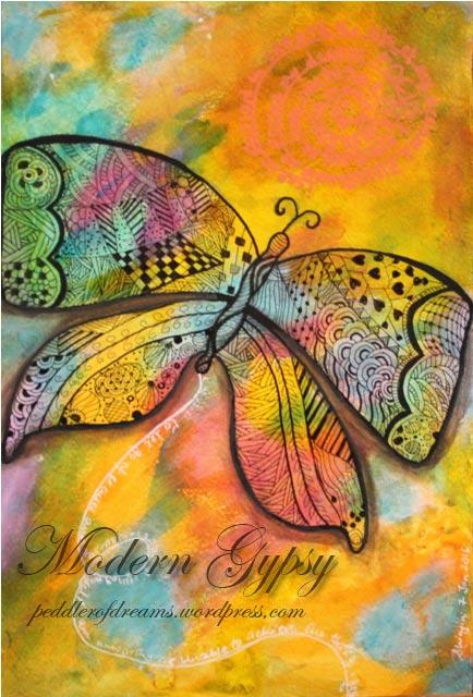 art_journal_zentangle_butterfly