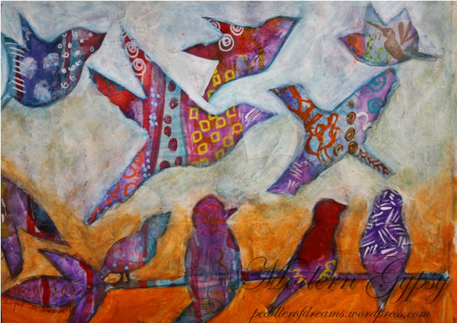 Intuitive-painting-Flock-of-birds