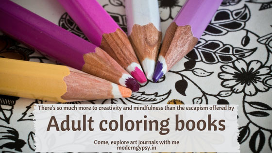 There is so much more to creativity than adult coloring books. Explore art journaling with me.