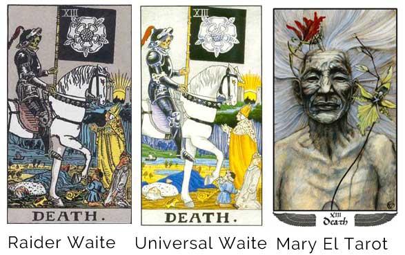 cross pollinate ideas instead of ghetto ideas and ghetto blogging death-tarot-card-raider-waite-universal-waite-mary-el
