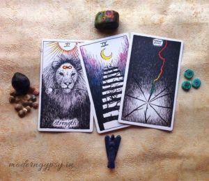 book tarot reading three card reading
