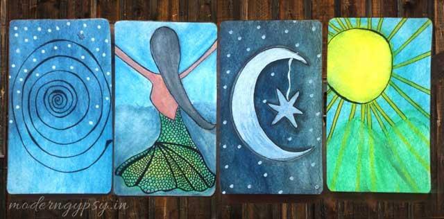 making magic creating oracle card deck