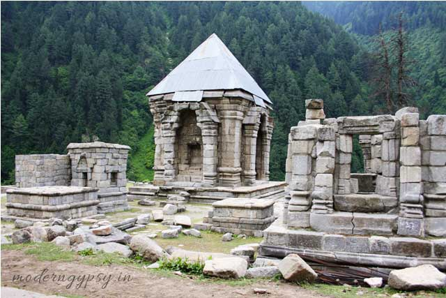 Ancient Shiva temple, Naranag, Kashmir