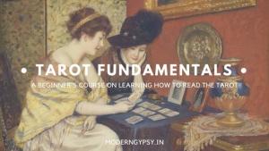 Tarot fundamentals ecourse learn tarot beginners