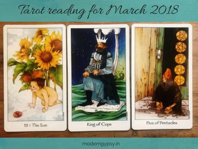 Tarot reading for March 2018