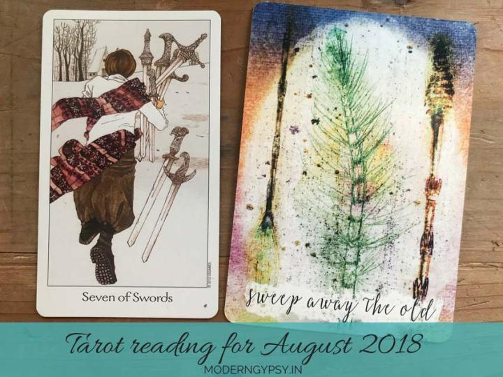Tarot reading for August 2018