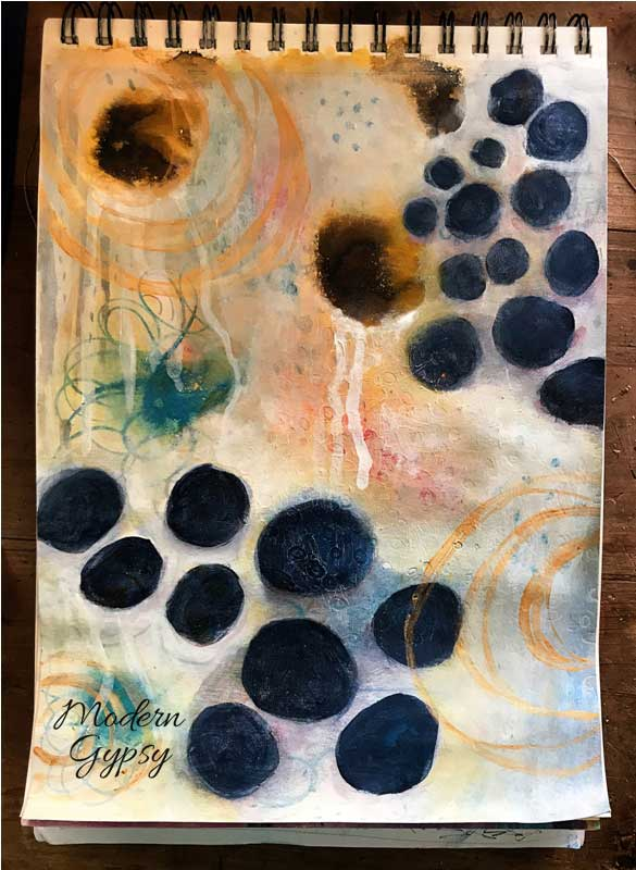Constellation of Hope abstract art how to