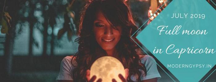 full moon in Capricorn July 2019