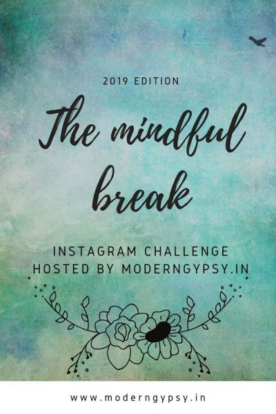 The Mindful Break challenge is back! Join us for 15 days of mindful awareness prompts on Instagram. Visit the website to register + download the mindfulness prompts