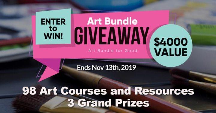 Art Bundles for Good giveaway