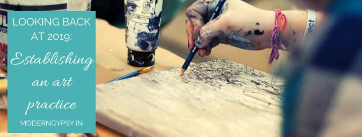 Establishing an art practice