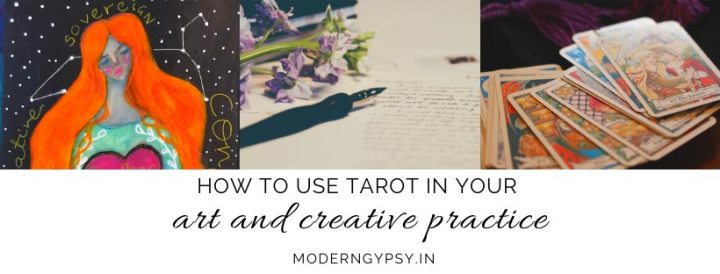how to use the tarot in your art and creative practice