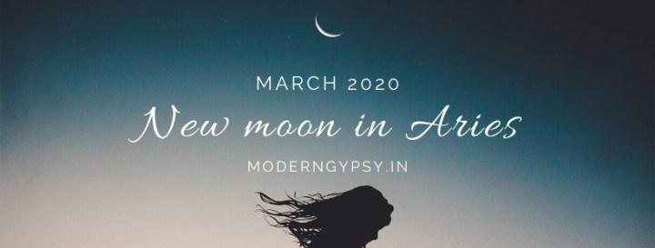 Tarot spread for the March 2020 new moon in Aries