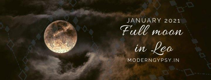 Tarot spread for the January 2021 new moon in Leo