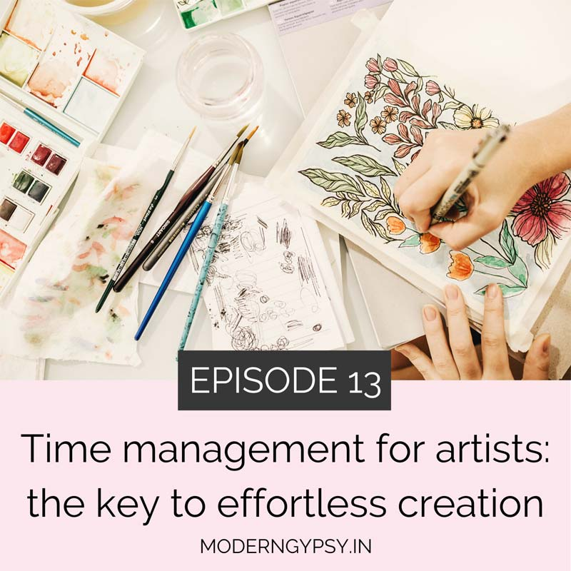 time management for artists the key to effortless creation