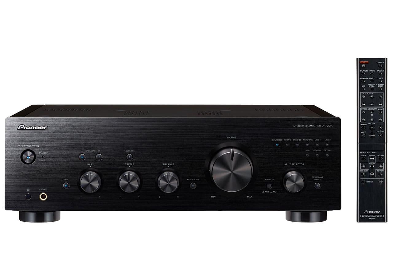 Pioneer A-70DA: Stereo-Verstärker Mit USB