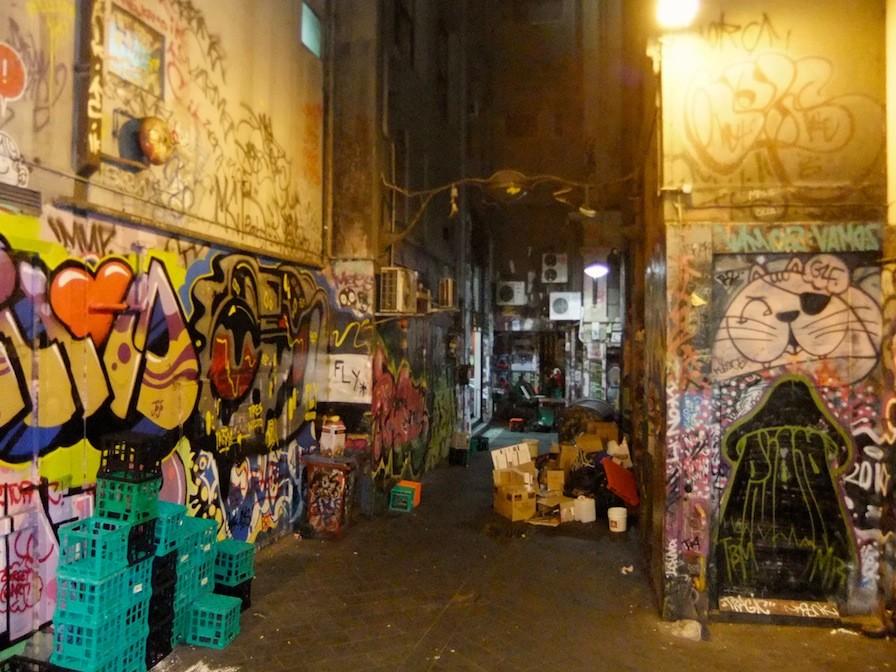 Melbourne Australien Fitzroy