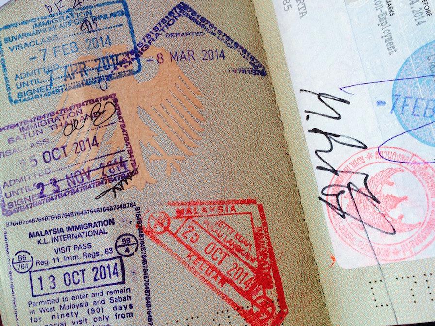 Checkliste Reise