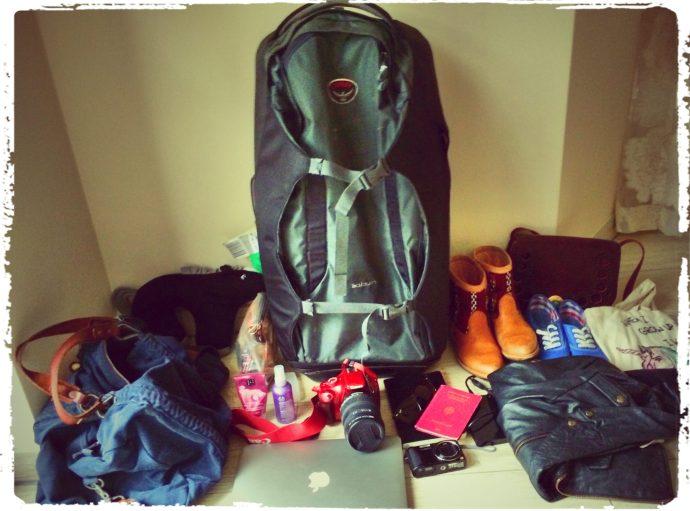 Reise Packliste