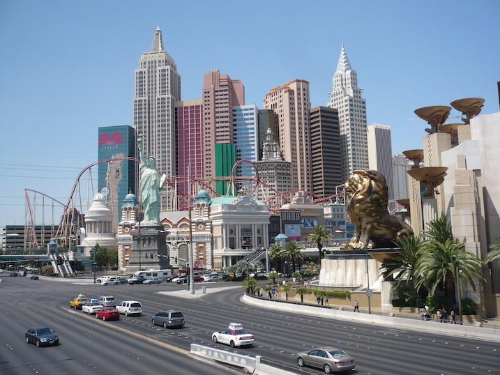 Las Vegas bei Tag