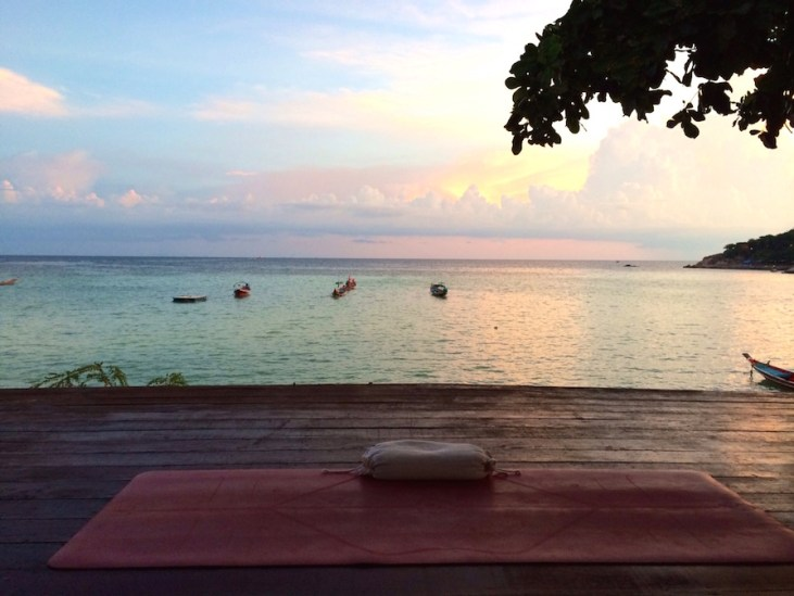 Yoga auf Reisen