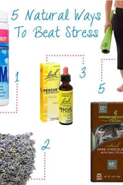 Natural Ways to Beat Stress