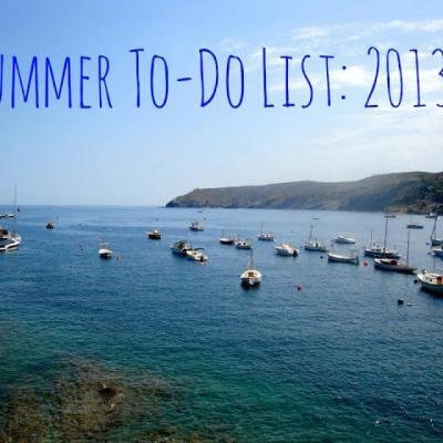 Summer To-Do List : Denver, 2013