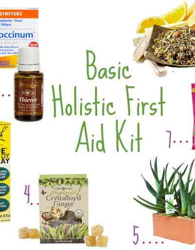 Holistic First Aid Kit