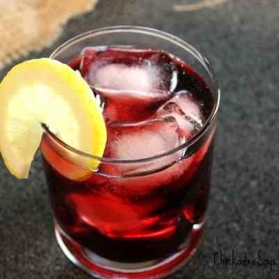 Summer Drink Series: Blackberry-Orange Gin and Tonic