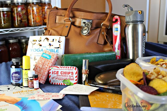 What's In My Travel Bag: Healthy Living Blogger