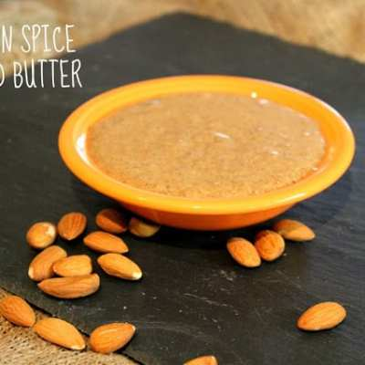 Meatless Monday: Autumn Spice Almond Butter