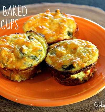 Savory Baked Egg Cups