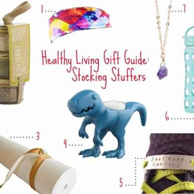 Healthy Living Gift Guide: Stocking Stuffers