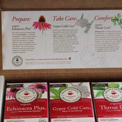 Traditional Medicinals Winter Wellness Kit Review and Giveaway (Closed)