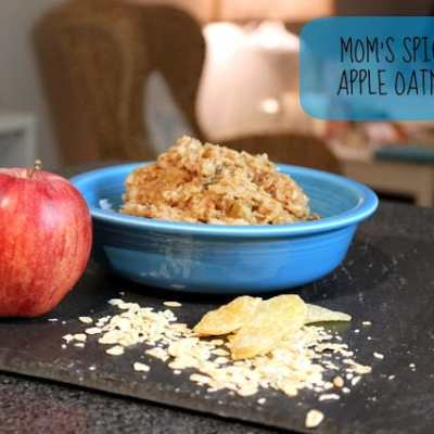 Mom's Spiced Apple Oatmeal