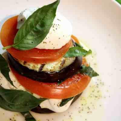 Meatless Monday: Grilled Eggplant Caprese