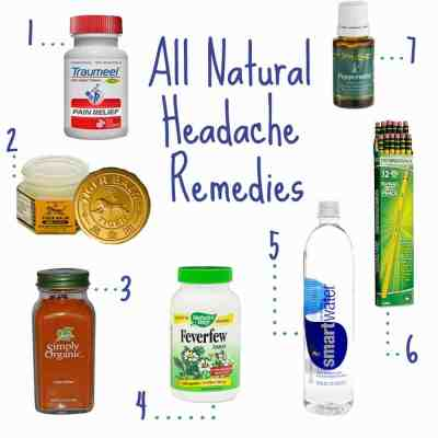 All Natural Headache Remedies