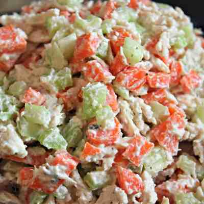 Healthy Chicken Salad (No Mayonnaise!)