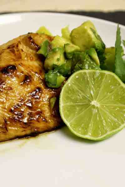 Pan Fried Honey Lime Chicken