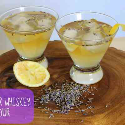 Summer Drink Series: Lavender Whiskey Sour