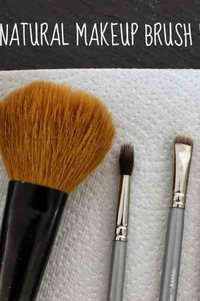 DIY All Natural Makeup Brush Wash