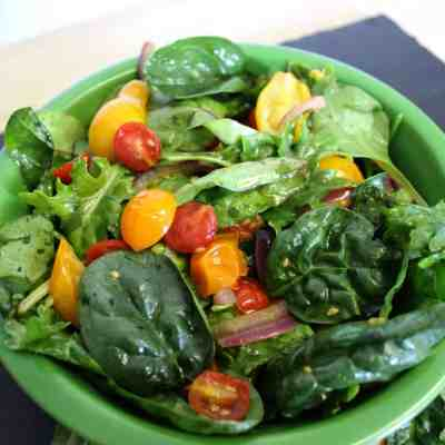 Meatless Monday: Sautéed Tomato and Herb Summer Salad