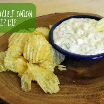 Meatless Monday: Vegan Double Onion Chip Dip