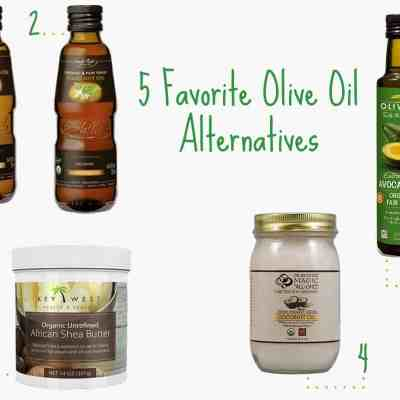 5 Favorite Olive Oil Alternatives