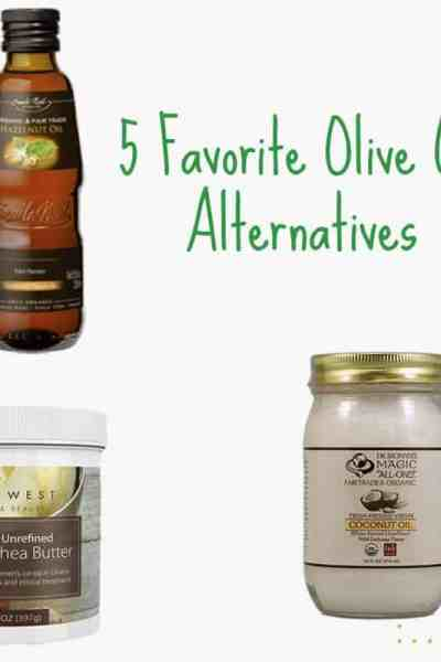 5 Favorite Olive Oil Alternatives