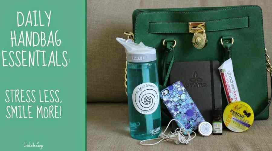 Daily Handbag Essentials: Stress Less, Smile More with Bach Rescue!